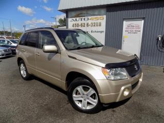 Used 2007 Suzuki Grand Vitara ***JLX,4X4,AWD,CUIR,TOIT,BAS KILO*** for sale in Longueuil, QC