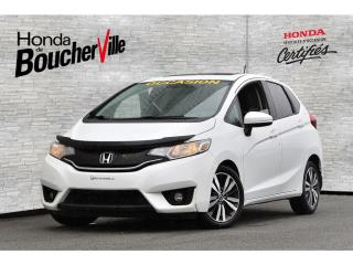 Used 2017 Honda Fit EX Retour de location Jamais accidenté for sale in Boucherville, QC