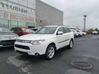 Used 2014 Mitsubishi Outlander GT AWD-CUIR-TOIT for sale in St-Hubert, QC
