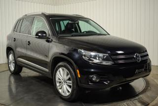 Used 2012 Volkswagen Tiguan HIGHLINE 4 MOTION CUIR TOIT PANO MAGS GR for sale in St-Hubert, QC