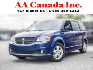 Used 2018 Dodge Grand Caravan Crew Plus for sale in Toronto, ON