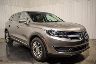 Used 2016 Lincoln MKX AWD CUIR TOIT PANO MAGS NAV for sale in St-Hubert, QC