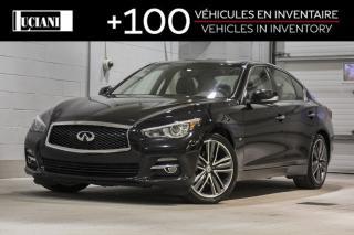 Used 2015 Infiniti Q50 2015 Infiniti Q50  AWD!! BOSE GPS !! for sale in Montréal, QC