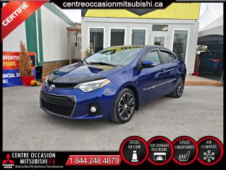 Used 2016 Toyota Corolla S LUMIERE HID SIEGES CHAUFFANTS CAMERA for sale in Blainville, QC