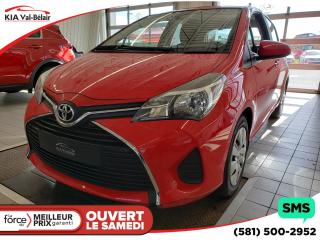 Used 2017 Toyota Yaris *LE*AIR*CRUISE*LECTEUR CD* for sale in Québec, QC