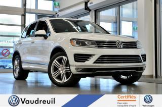 Used 2017 Volkswagen Touareg Execline * R-LINE *** Réservé *** for sale in Vaudreuil-Dorion, QC