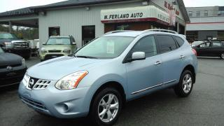 Used 2011 Nissan Rogue 4 portes SV, Traction avant for sale in Sherbrooke, QC