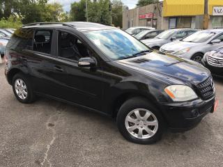 Used 2006 Mercedes-Benz M-Class 3.5L/ PREMIUM/ NAVI/ LEATHER/ SUNROOF/ ALLOYS! for sale in Scarborough, ON