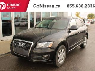 Used 2011 Audi Q5 LEATHER SEATS BLUETOOTH SUNROOF HEATED SEATS for sale in Edmonton, AB