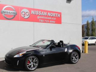 Used 2014 Nissan 370Z Touring Roadster/6 SPEED/ONE OWNER/LOW KM for sale in Edmonton, AB