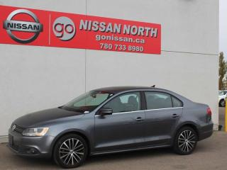 Used 2013 Volkswagen Jetta Sedan Highline/TDI/AUTO/LEATHER/SUNROOF for sale in Edmonton, AB