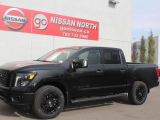 Used 2019 Nissan Titan SL Midnight Edition/4X4/CREW CAB/LEATHER for sale in Edmonton, AB