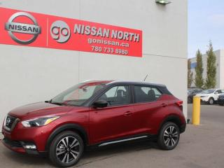 New 2019 Nissan Kicks SR/LEATHER/360 CAM/BOSE PERSONAL for sale in Edmonton, AB