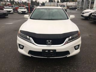 Used 2013 Honda Accord Cpe EX-L NAVI for sale in Campbell River, BC