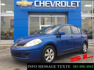 Used 2009 Nissan Versa SL for sale in Ste-Marie, QC