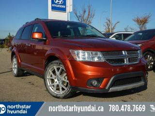 Used 2013 Dodge Journey RT AWD/LEATHER/7PASS/BACKUPCAM for sale in Edmonton, AB