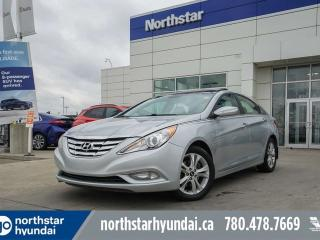 Used 2012 Hyundai Sonata LIMITED LEATHER/SUNROOF/BACKUPCAM for sale in Edmonton, AB