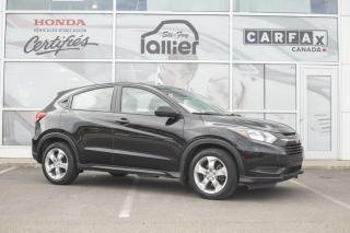 Used 2016 Honda HR-V LX***JAMAIS ACCIDENTE*** for sale in Québec, QC