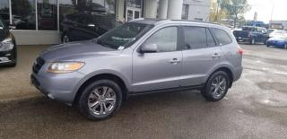 Used 2008 Hyundai Santa Fe FE; HEATED SEATS, LEATHER, CRUISE CONTROL, A/C AND MORE for sale in Edmonton, AB