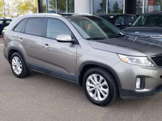 Used 2015 Kia Sorento EX; BLUETOOTH, BACKUP CAM, HEATED SEATS AND MORE for sale in Edmonton, AB