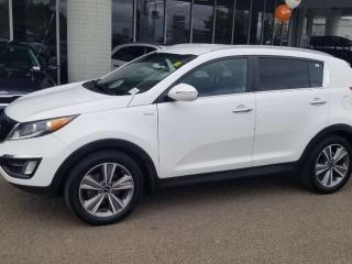 Used 2014 Kia Sportage SX; BLUETOOTH, BACKUP CAM, HEATED SEATS AND MORE for sale in Edmonton, AB