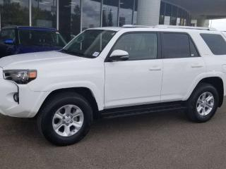 Used 2016 Toyota 4Runner SR5; 7PASS, BLUETOOTH, BACKUP CAM, DVD, LEATHER AND MORE for sale in Edmonton, AB