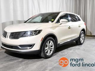 Used 2016 Lincoln MKX RESERVE AWD | HEATED STEERING WHEEL | HEATED FRONT + BACK SEATS | LANE KEEP ASSIST | ADAPTIVE CRUISE | TECHNOLOGY PACKAGE for sale in Red Deer, AB