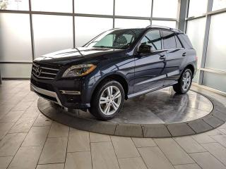 Used 2015 Mercedes-Benz ML-Class 4MATIC/BlueTEC for sale in Edmonton, AB