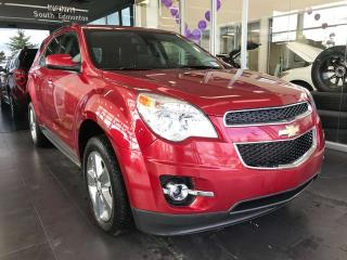 Used 2013 Chevrolet Equinox 2LT AWD, POWER HEATED LEATHER SEATS, BACK-UP CAMERA, CRUISE CONTROL for sale in Edmonton, AB