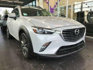 Used 2017 Mazda CX-3 GRTOUR AWD, SUNROOF, HEATED LEATHER SEATS, KEYLESS IGNITION for sale in Edmonton, AB