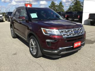 Used 2018 Ford Explorer LIMITED | 4WD | Lane Keep Assist for sale in Harriston, ON