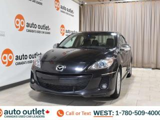 Used 2013 Mazda MAZDA3 Gs-sky, 2.0L I4, Fwd, Leather heated seats, Sunroof, Bluetooth for sale in Edmonton, AB