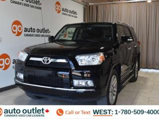 Used 2011 Toyota 4Runner SR5, 4.0L V6, 4wd, Third row 7 passenger seating, Navigation, Leather heated seats, Backup camera, Sunroof, Bluetooth for sale in Edmonton, AB