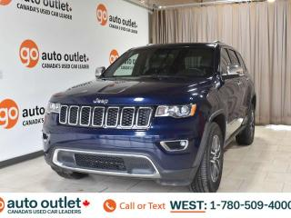 Used 2017 Jeep Grand Cherokee Limited, 4wd, 3.6L V6, Leather heated seats & steering wheel, Backup camera, Bluetooth for sale in Edmonton, AB