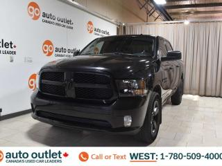 Used 2017 RAM 1500 Express, 5.7L V8, 4x4, Crew cab, Short box, Cloth seats, Bluetooth, Tow/Haul package for sale in Edmonton, AB