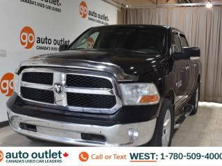 Used 2016 RAM 1500 Slt, 5.7L V8, 4x4, Crew cab, Short box, Cloth heated seats, Heated steering wheel, Backup camera, Bluetooth for sale in Edmonton, AB