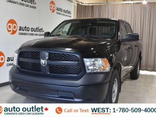 Used 2018 RAM 1500 Tradesman, 3.0L V6, Turbo diesel, 4x4, Crew cab, Short box, Cloth seats, Tow/Haul package, Backup camera for sale in Edmonton, AB