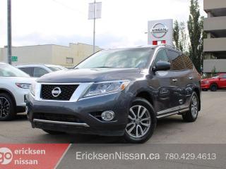 Used 2014 Nissan Pathfinder SL l AWD l Leather l 7 Passenger l Nav for sale in Edmonton, AB