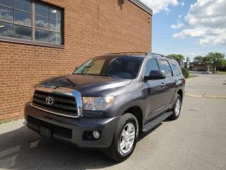 Used 2012 Toyota Sequoia SR5/8PASSENGER /LEATHER /SUNROOF/CAM/ for sale in Oakville, ON