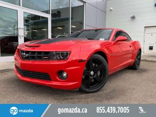 Used 2013 Chevrolet Camaro 2SS LEATHER NAV BRAND NEW TIRES for sale in Edmonton, AB