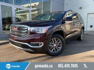 Used 2017 GMC Acadia SLT AWD LEATHER SUNROOF NAV for sale in Edmonton, AB