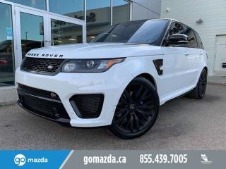Used 2017 Land Rover Range Rover Sport SVR for sale in Edmonton, AB