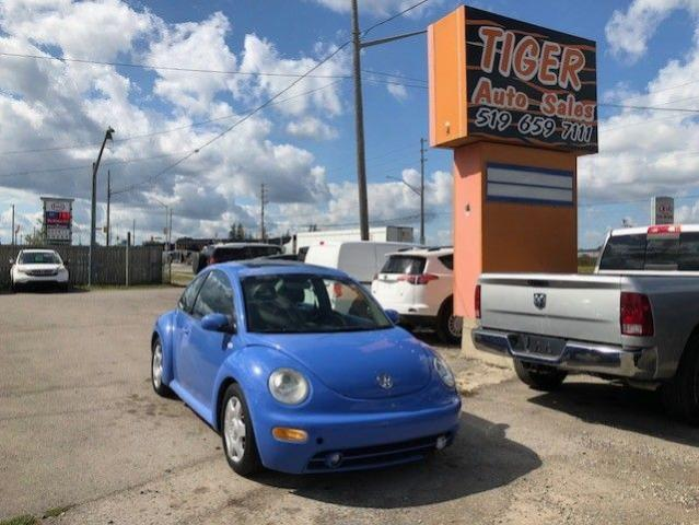 2001 Volkswagen New Beetle GLS**ONLY 199KMS**AUTO**LEATHER**DRIVES WELL*AS IS
