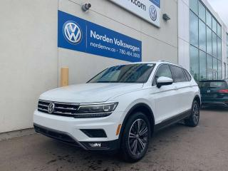 Used 2018 Volkswagen Tiguan HIGHLINE W/ DRIVERS ASSIST + 3RD ROW PKG for sale in Edmonton, AB