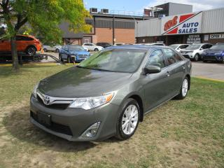 Used 2014 Toyota Camry XLE~LEATHER~SUNROOF~NAV.~BACK-UP CAM.~CERTIFIED~ for sale in Toronto, ON