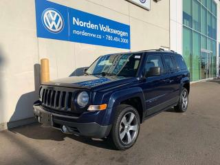 Used 2016 Jeep Patriot HIGH ALTITUDE 4X4 - LEATHER / HEATED SEATS for sale in Edmonton, AB