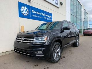 Used 2019 Volkswagen Atlas EXECLINE for sale in Edmonton, AB