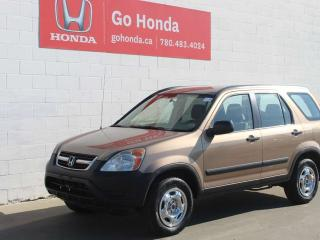 Used 2004 Honda CR-V LX, 4WD, FINANCING AVAILABLE for sale in Edmonton, AB