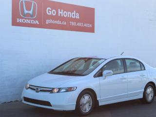 Used 2008 Honda Civic Hybrid HYBRID for sale in Edmonton, AB