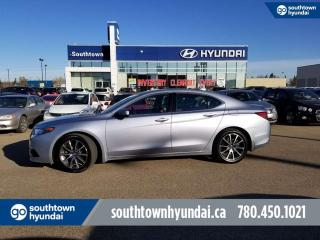 Used 2016 Acura TLX V6 ELITE/AWD/BLIND SPOT/LANE ASSIST for sale in Edmonton, AB